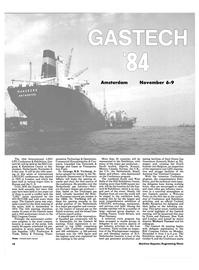 Maritime Reporter Magazine, page 16,  Oct 15, 1984 Michael Tusiani