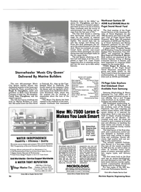 Maritime Reporter Magazine, page 24,  Oct 15, 1984 Suppliers Main