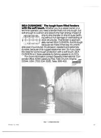 Maritime Reporter Magazine, page 25,  Oct 15, 1984 terminal operator