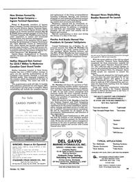 Maritime Reporter Magazine, page 37,  Oct 15, 1984 the Newport News