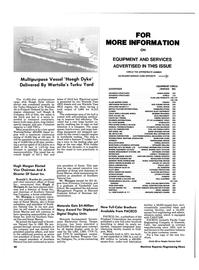 Maritime Reporter Magazine, page 38,  Oct 15, 1984 Arizona