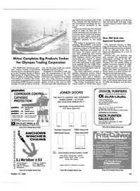 Maritime Reporter Magazine, page 43,  Oct 15, 1984 North Carolina