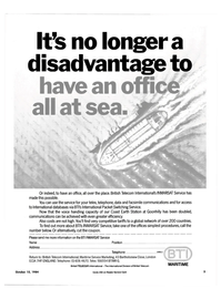 Maritime Reporter Magazine, page 3,  Oct 15, 1984 Bartholomew Close