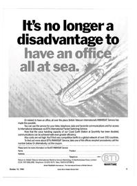 Maritime Reporter Magazine, page 3,  Oct 15, 1984 Bartholomew Close