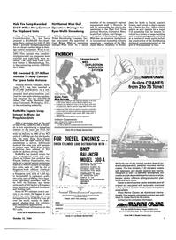 Maritime Reporter Magazine, page 7,  Oct 15, 1984 C-0580