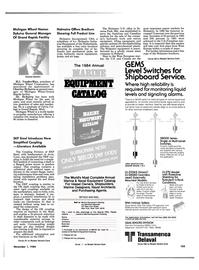 Maritime Reporter Magazine, page 99,  Nov 1984 Calvin Col