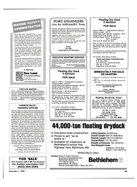Maritime Reporter Magazine, page 105,  Nov 1984 Michigan
