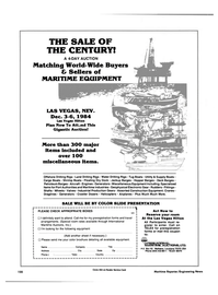 Maritime Reporter Magazine, page 114,  Nov 1984 travel arrangements