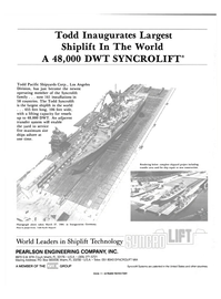 Maritime Reporter Magazine, page 4th Cover,  Nov 1984