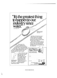 Maritime Reporter Magazine, page 2nd Cover,  Nov 1984 TRI-FLEX Sling Company