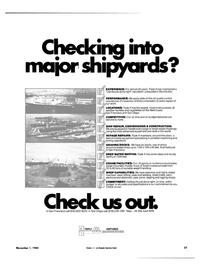 Maritime Reporter Magazine, page 23,  Nov 1984 paint