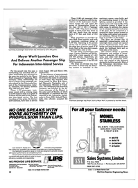 Maritime Reporter Magazine, page 28,  Nov 1984 West Coast