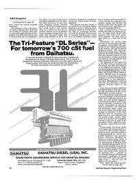 Maritime Reporter Magazine, page 32,  Nov 1984 Eisenhower