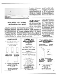 Maritime Reporter Magazine, page 37,  Nov 1984 Field