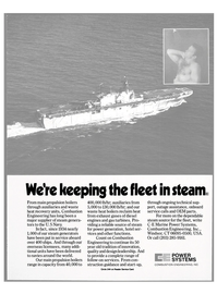 Maritime Reporter Magazine, page 55,  Nov 1984 start-up