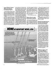 Maritime Reporter Magazine, page 4,  Nov 1984 New York