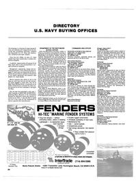 Maritime Reporter Magazine, page 80,  Nov 1984 Navy Buying