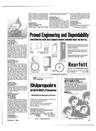 Maritime Reporter Magazine, page 85,  Nov 1984 Virginia