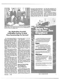 Maritime Reporter Magazine, page 9,  Nov 15, 1984