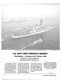 Maritime Reporter Magazine, page 10,  Nov 15, 1984 United States