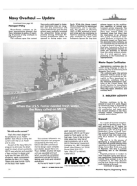Maritime Reporter Magazine, page 16,  Nov 15, 1984 New Jersey