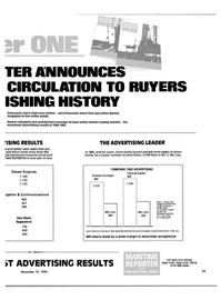 Maritime Reporter Magazine, page 21,  Nov 15, 1984 media buyers