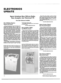 Maritime Reporter Magazine, page 26,  Nov 15, 1984 Reader Service Card New Features Added To Ship Control Center