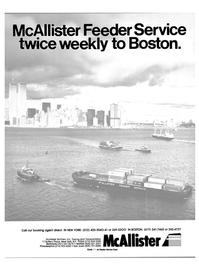 Maritime Reporter Magazine, page 1,  Nov 15, 1984 McAllister Brothers Inc.