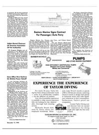 Maritime Reporter Magazine, page 31,  Nov 15, 1984 Island Ferry District