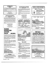 Maritime Reporter Magazine, page 39,  Nov 15, 1984 Maryland