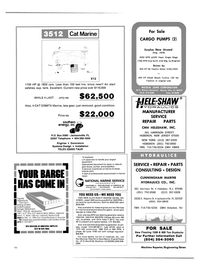 Maritime Reporter Magazine, page 40,  Nov 15, 1984 Pete Hill