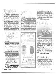 Maritime Reporter Magazine, page 41,  Nov 15, 1984 California