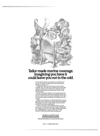 Maritime Reporter Magazine, page 4th Cover,  Nov 15, 1984 insurance marketplace