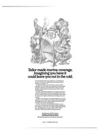 Maritime Reporter Magazine, page 4th Cover,  Nov 15, 1984 insurance marketplace