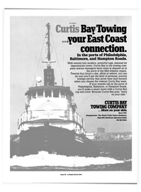Maritime Reporter Magazine, page 7,  Nov 15, 1984 Maryland