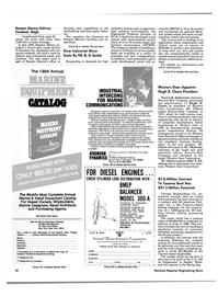 Maritime Reporter Magazine, page 8,  Dec 1984