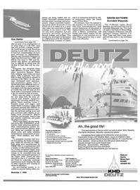 Maritime Reporter Magazine, page 23,  Dec 1984 Caribbean