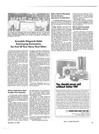 Maritime Reporter Magazine, page 11,  Dec 15, 1984