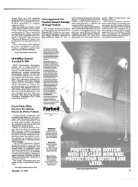Maritime Reporter Magazine, page 15,  Dec 15, 1984 New York