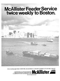 Maritime Reporter Magazine, page 1,  Dec 15, 1984 McAllister Brothers Inc.