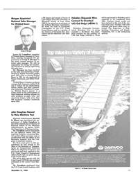 Maritime Reporter Magazine, page 31,  Dec 15, 1984