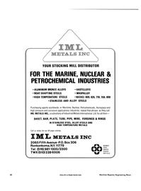 Maritime Reporter Magazine, page 44,  Dec 15, 1984 Industrial Metals International Ltd.