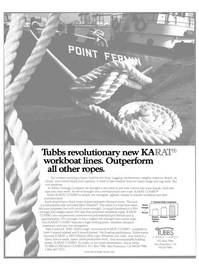Maritime Reporter Magazine, page 2nd Cover,  Jan 1985