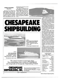 Maritime Reporter Magazine, page 18,  Jan 1985 Connecticut