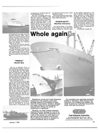 Maritime Reporter Magazine, page 23,  Jan 1985