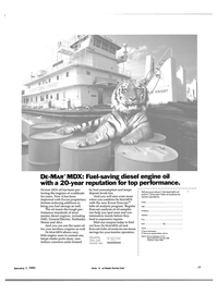 Maritime Reporter Magazine, page 27,  Jan 1985 diesel engine oil
