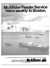 Maritime Reporter Magazine, page 1,  Jan 1985 McAllister Brothers Inc.