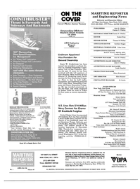 Maritime Reporter Magazine, page 2,  Jan 1985