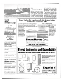 Maritime Reporter Magazine, page 40,  Jan 1985 marine products