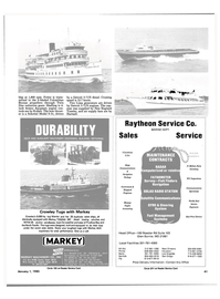 Maritime Reporter Magazine, page 43,  Jan 1985 Texas